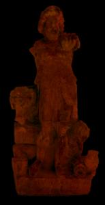 Statue de Sylvain-Sucellus en pied